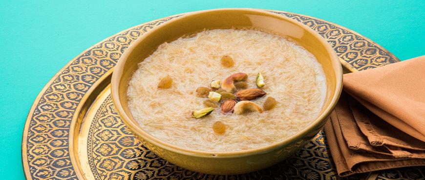 Traditional Desserts Sheer Khurma