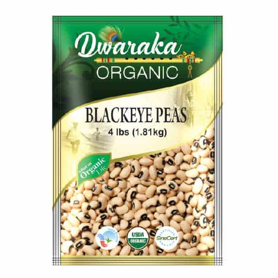Black Eyed Peas By Dwaraka Organic