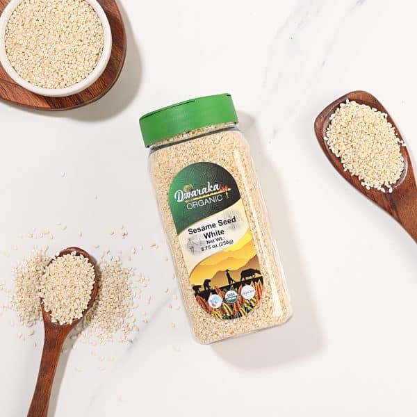 Organic-Sesame-Seed-White