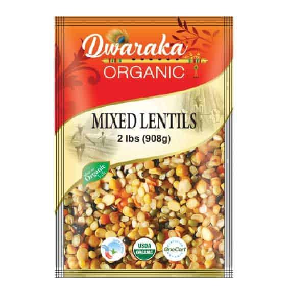Mixed Lentils 908g