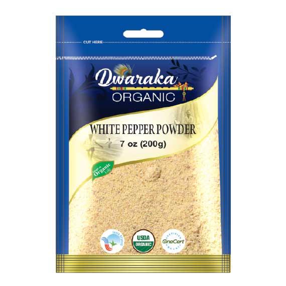 White Pepper Powder By Dwaraka Organic