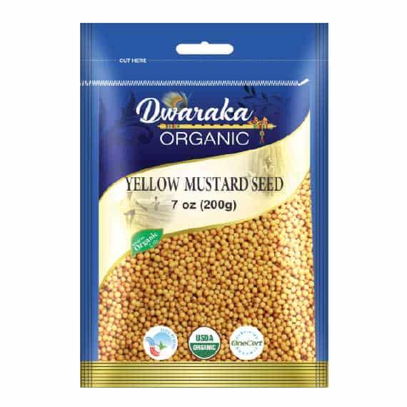 Yellow Mustard Seeds By Dwaraka Organic