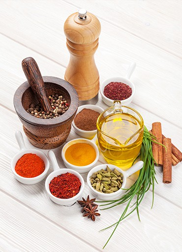 Cooking Oils & Spices