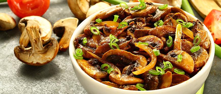 Mushroom Tikka Masala