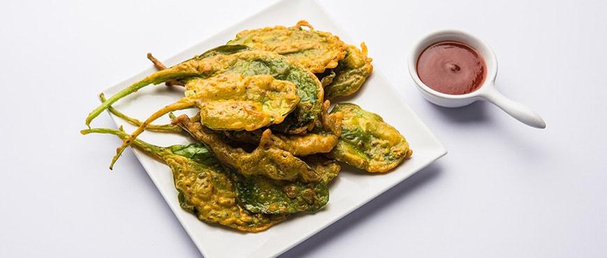 Fasting Palak Pakora